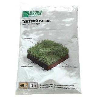 Семена Газон <b>Зеленый квадрат</b> ® Спортивный, 1 кг Зеленый ковер