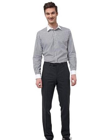 227d4f0c22857 Мужская рубашка - выкройка № 127 из журнала 1/2014 Burda – выкройки ...