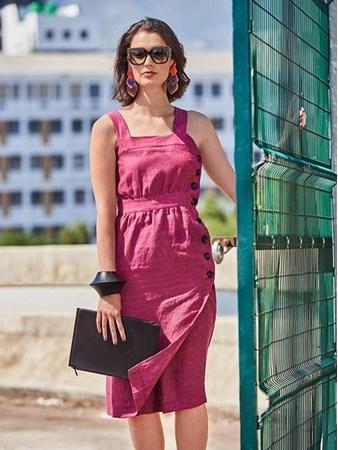 489237c6045 Выкройки платьев с запахом от Burda – скачать выкройки на Burdastyle.ru